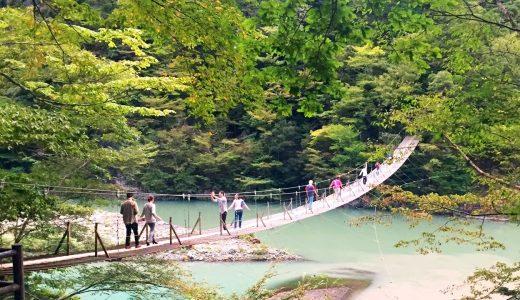 【静岡県/寸又峡】夢の吊り橋の雨の日の様子は?駐車場は無料?