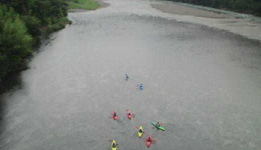 四万十川でカヌー体験&キャンプならおすすめはここ!運動音痴が初挑戦!