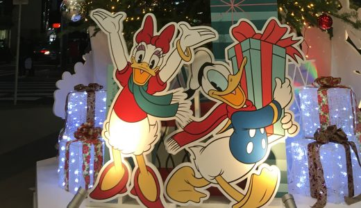 2017年東急百貨店にディズニーのクリスマスツリーが登場!