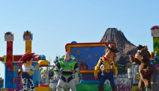 ディズニーシーの新ショー ピクサープレイタイムパルズの流れと登場キャラクターまとめ